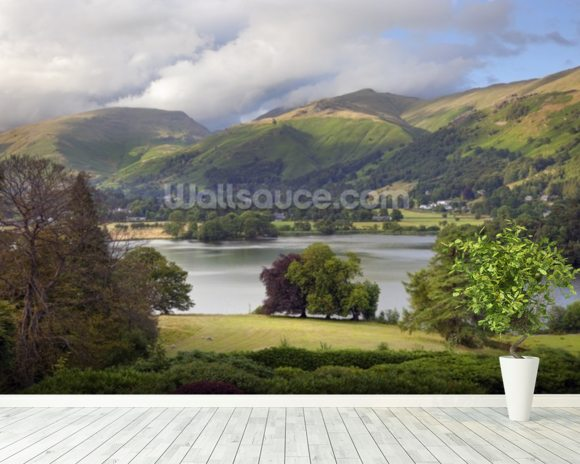 Grasmere wall mural room setting
