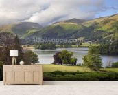 Grasmere wall mural living room preview