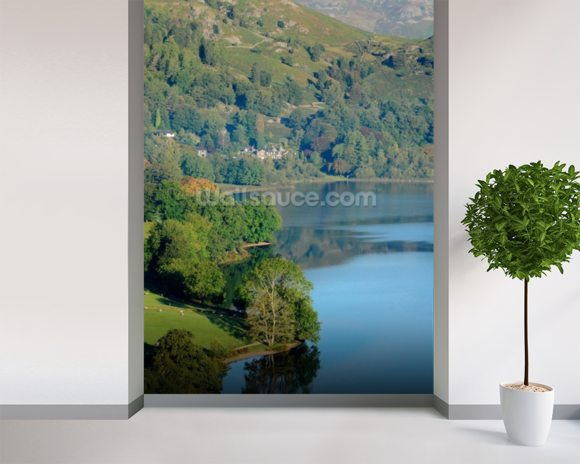 Dale End Grasmere Lake wall mural room setting