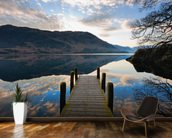 Ullswater Jetty mural wallpaper kitchen preview