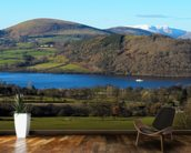 Ullswater Steamer wall mural kitchen preview
