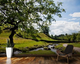 Beautiful Yorkshire Dales mural wallpaper