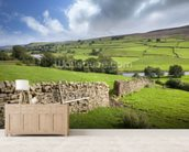 Swaledale, Yorkshire wallpaper mural living room preview