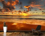 Colourful Australian Sunset mural wallpaper kitchen preview