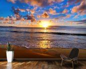Horizon Sunset wall mural kitchen preview
