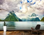 Milford Sound wallpaper mural kitchen preview