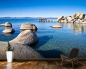 Lake Tahoe wall mural kitchen preview
