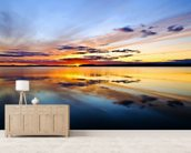 Lake Pongomozero, Russia wallpaper mural living room preview