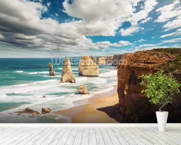 Great ocean road australia wallpaper wall mural for Australian mural