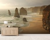 Twelve Apostles, Australia mural wallpaper living room preview