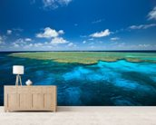 Clam Gardens, Great Barrier Reef wall mural living room preview