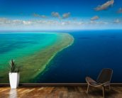 Great Barrier Reef wallpaper mural kitchen preview
