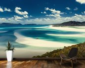 Whitehaven Beach, Australia mural wallpaper kitchen preview