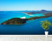 Whitsunday Islands wall mural in-room view
