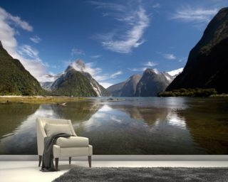 Milford Sound NZ wallpaper mural