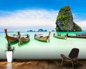 Longtail Boats, Thailand wall mural kitchen preview