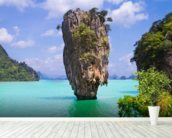 James Bond Island wallpaper mural in-room view