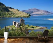 Eilean Donan 'Highlander' Castle wallpaper mural kitchen preview