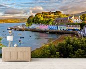 Portree, Isle of Skye mural wallpaper living room preview