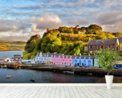 Portree, Isle of Skye mural wallpaper in-room view