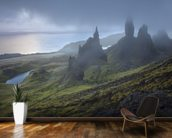 Old Man of Storr mural wallpaper kitchen preview
