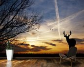 Deer at Sunset wall mural kitchen preview
