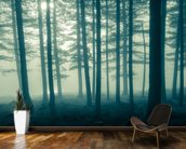 Foggy Forest wall mural kitchen preview
