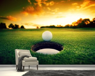 golf wall murals amp golfing wallpaper murals wallsauce golf wall mural wallpaperink co uk