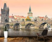 Prague mural wallpaper kitchen preview