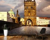 Charles Bridge in Prague wall mural kitchen preview