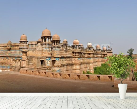 Gwalior Fort, India wallpaper mural room setting