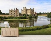 Leeds Castle Panorama wallpaper mural living room preview