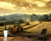 Tractors wall mural kitchen preview