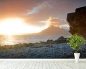 Sunset at Elgol Isle of Skye wall mural in-room view