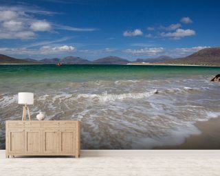 Horgabost Beach, Isle of Lewis mural wallpaper