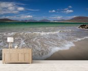 Horgabost Beach, Isle of Lewis mural wallpaper living room preview