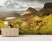 Quiraing wall mural living room preview