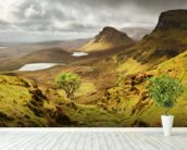 Quiraing wall mural in-room view