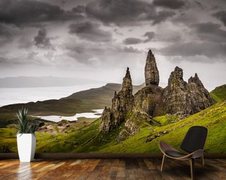 Old Man of Storr, Scotland wall mural
