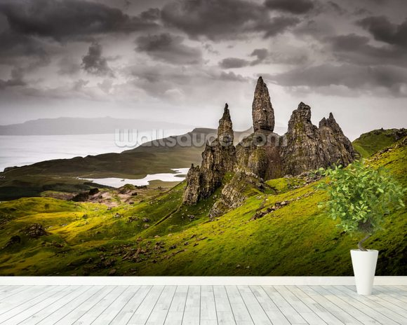 Old Man of Storr, Scotland wall mural room setting
