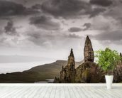 Old Man of Storr, Scotland wall mural in-room view