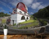 Laxey waterwheel wall mural kitchen preview