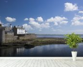 Castletown wallpaper mural in-room view