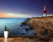 Portland Bill wall mural kitchen preview