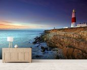 Portland Bill wall mural living room preview