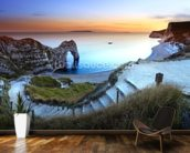 Durdle Door Sunset wallpaper mural kitchen preview