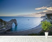 Durdle Door mural wallpaper in-room view