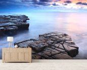 Kimmeridge Bay wall mural living room preview