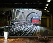 London Underground Train wallpaper mural kitchen preview