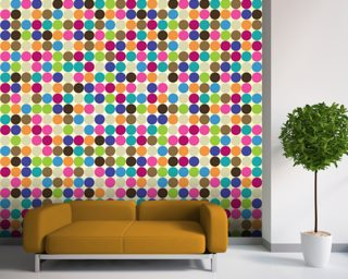 Circle Abstract Pattern wall mural